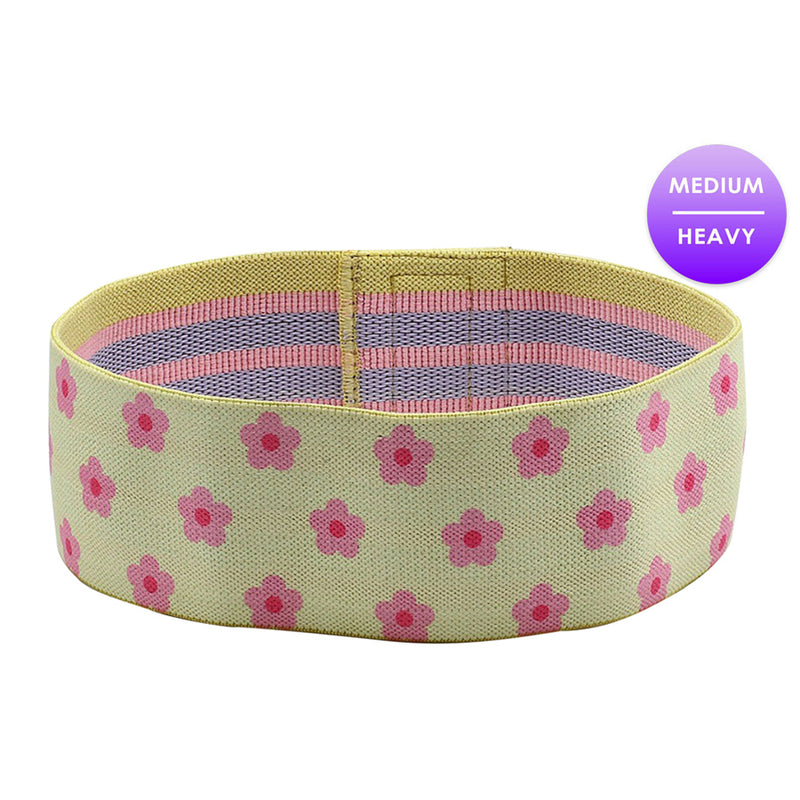 YELLOW FLOWER GLUTE BAND