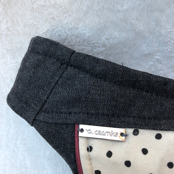 """Mini Jeans Dots"" Pieza Exclusiva Núm. 6668"
