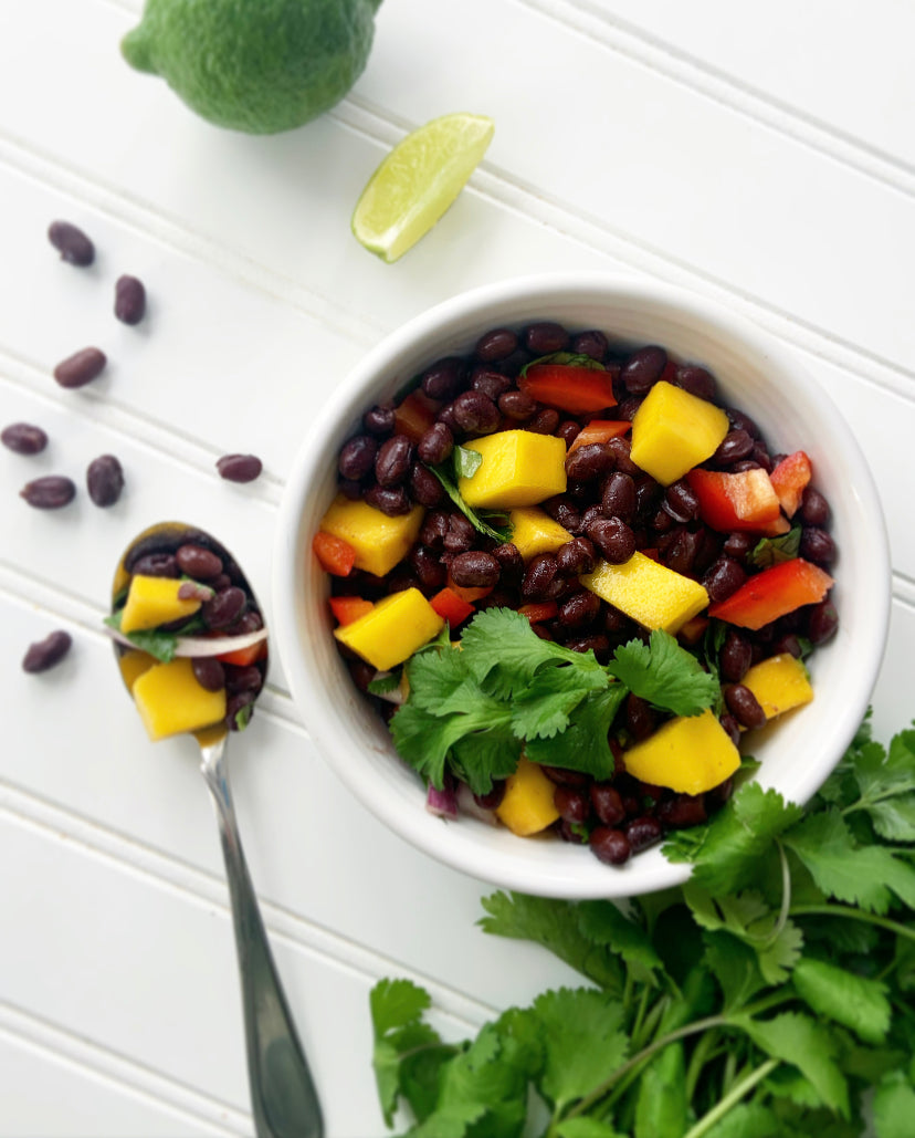 Revitalizing Black Bean Mango & Cilantro Salad Recipe