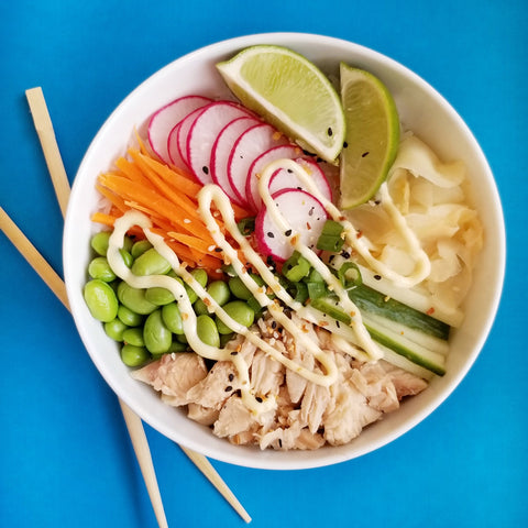 Poke Bowls by Lunches by Lindsay