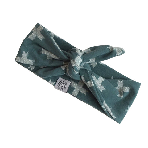 Blue Cross Headband