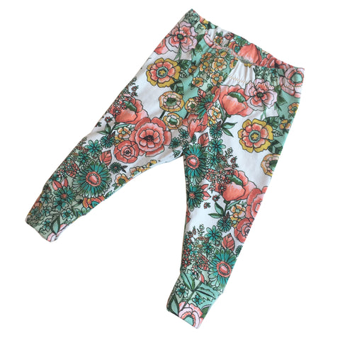 Floral Toddler Leggings