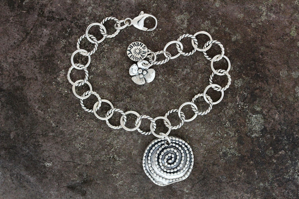 Beaded Spiral Jewelry Set