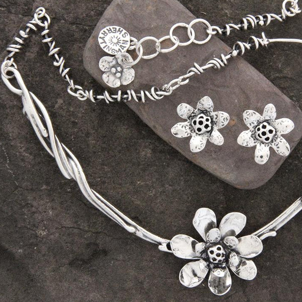 Lotus Flower Jewelry Set