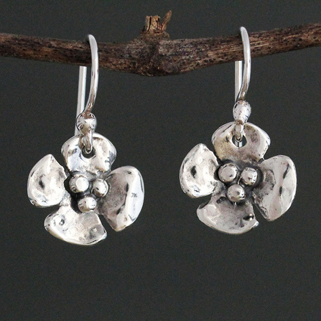Small Dogwood Earrings