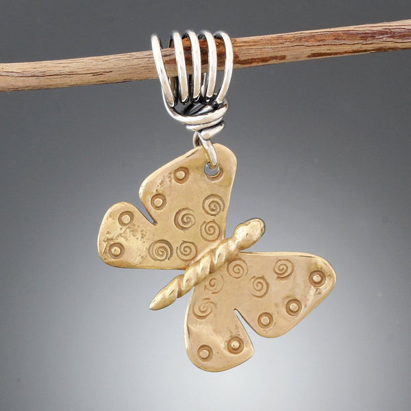 Sterling Silver Butterfly Pendant