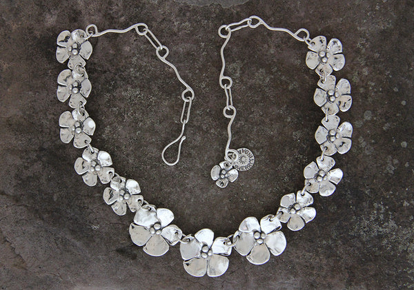 Dogwood Flower Jewelry Set