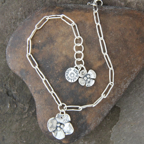 Dogwood Flower Anklet