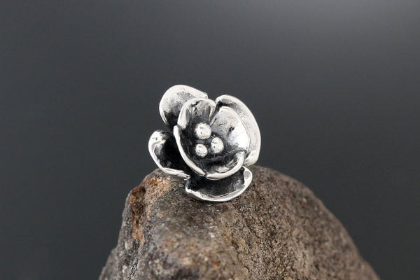 Sterling Silver Double Dogwood Scatter Pin