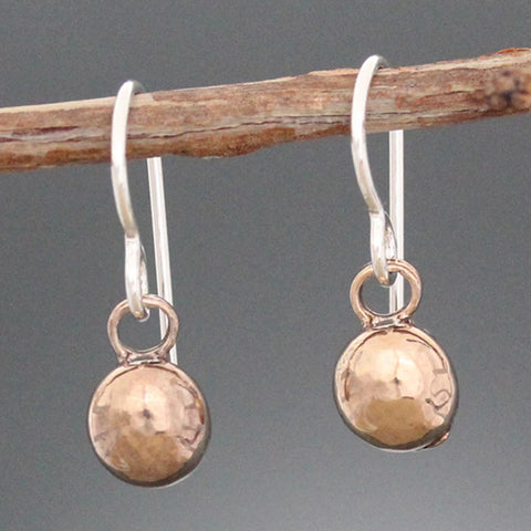 Brass or Bronze Drop Earrings