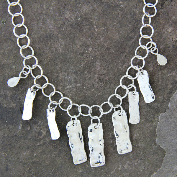 Rectangular Element Necklace