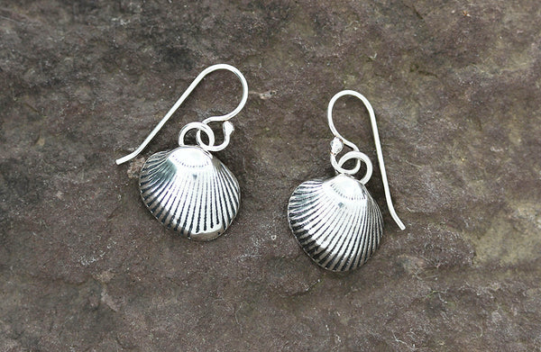 Sterling Silver Shell Earrings