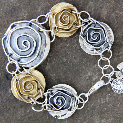 Rose Statement Bracelet