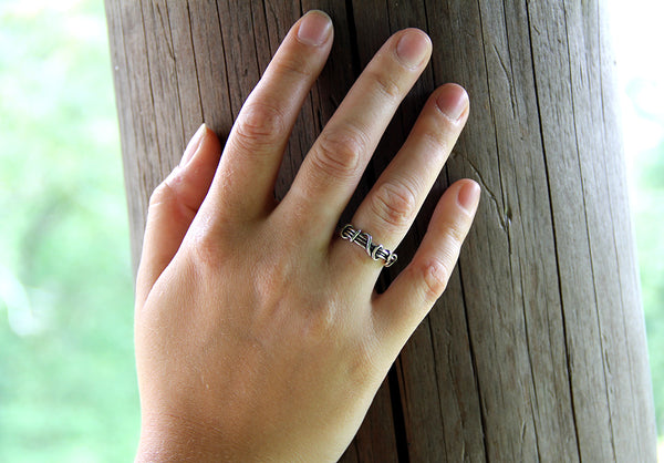 Wrapped Vine Ring