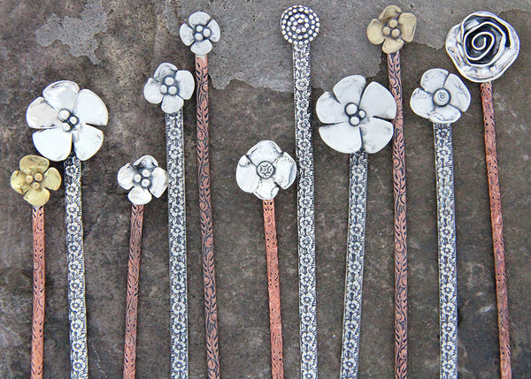Rose Hair Stick