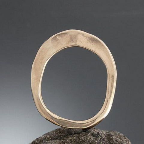 Bronze Flare Top Ring