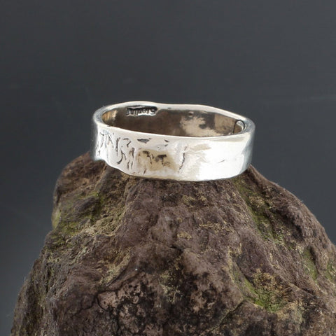 Sterling Silver Jeff Ring