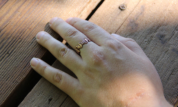 Copper Wrapped Vine Ring