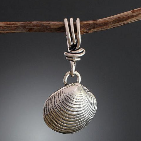 Sterling Silver Shell Pendant