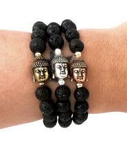 Volcanic Buddha Intention Bracelet