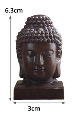 Mini Wooden Buddha Figure