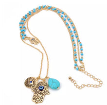 Fatima Turkish Multi Layer Necklace