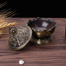 Tibetan Lotus Incense Burner