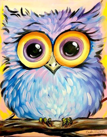 "Friday, June 23, 2:00 ""Fluffy Owl"" 12x12 Kids"