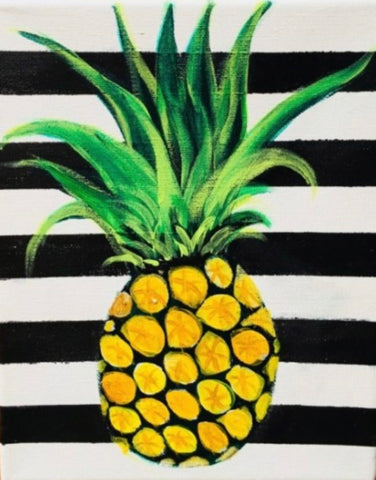 "Sunday, January 27 3:00 ""Pineapple"" Choose your stripe color"