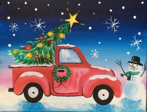 "Thurs, Dec 20, ""Christmas Truck"" 6:30"