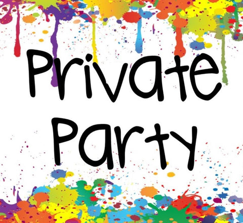 Saturday, Dec 9 Flower Power Private Party Kids Dep 2:00