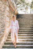 The Original Victoria Bridal Robe in Satin- {domenica_domenica], [bridal robes]