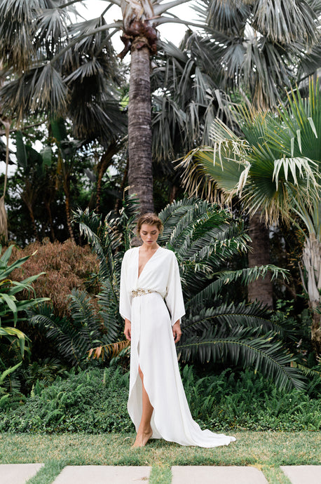 The New Victoria in Ivory- {domenica_domenica], [bridal robes]