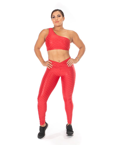 Brocado Clásico shiny legging