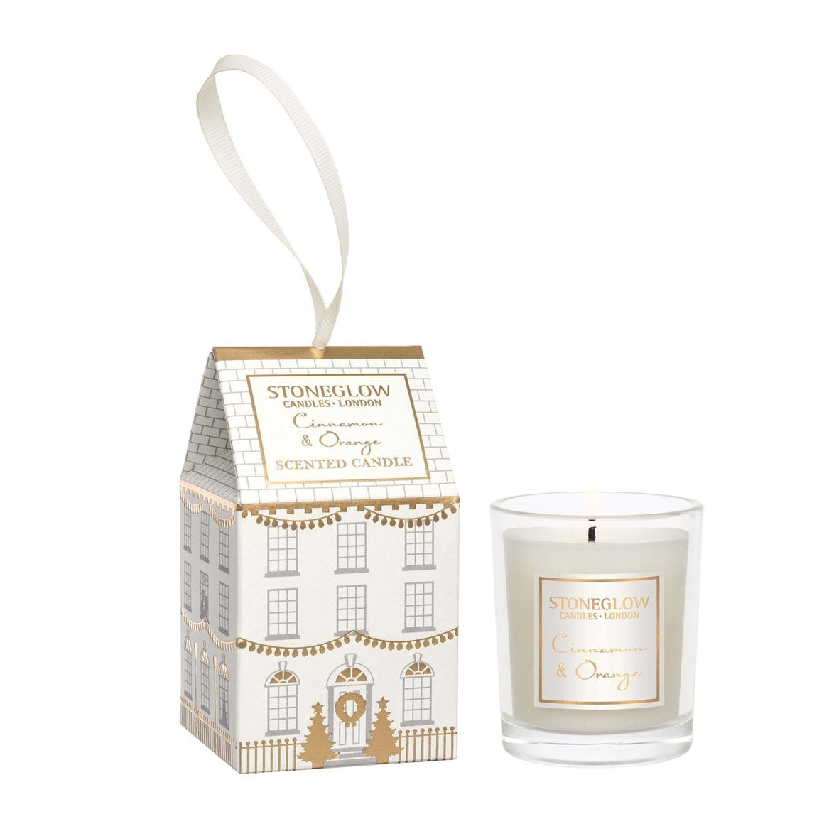 Cinnamon & Orange Votive House Candle