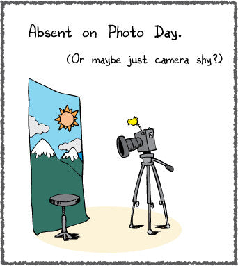 Absent on Photo Day