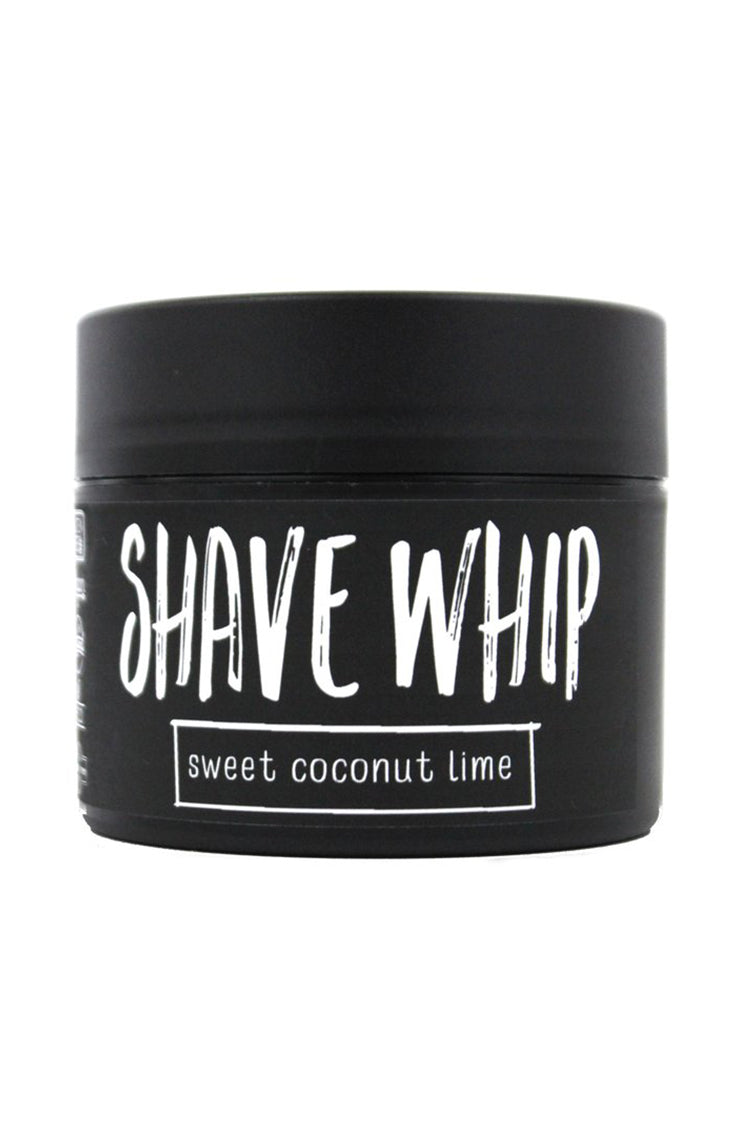 All natural shave cream for men and women. A moisturizing blend of avocado and coconut oils. Chemical free. Vegan, Organic and Fair Trade Friendly.