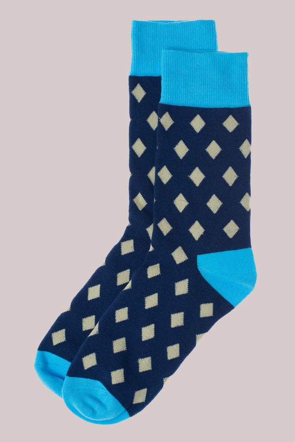 Socks in Diamond Print