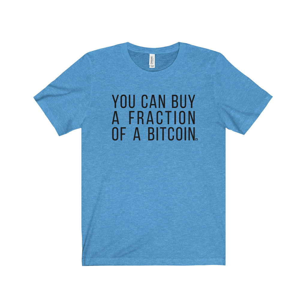 You Can Buy A Fraction Of Bitcoin