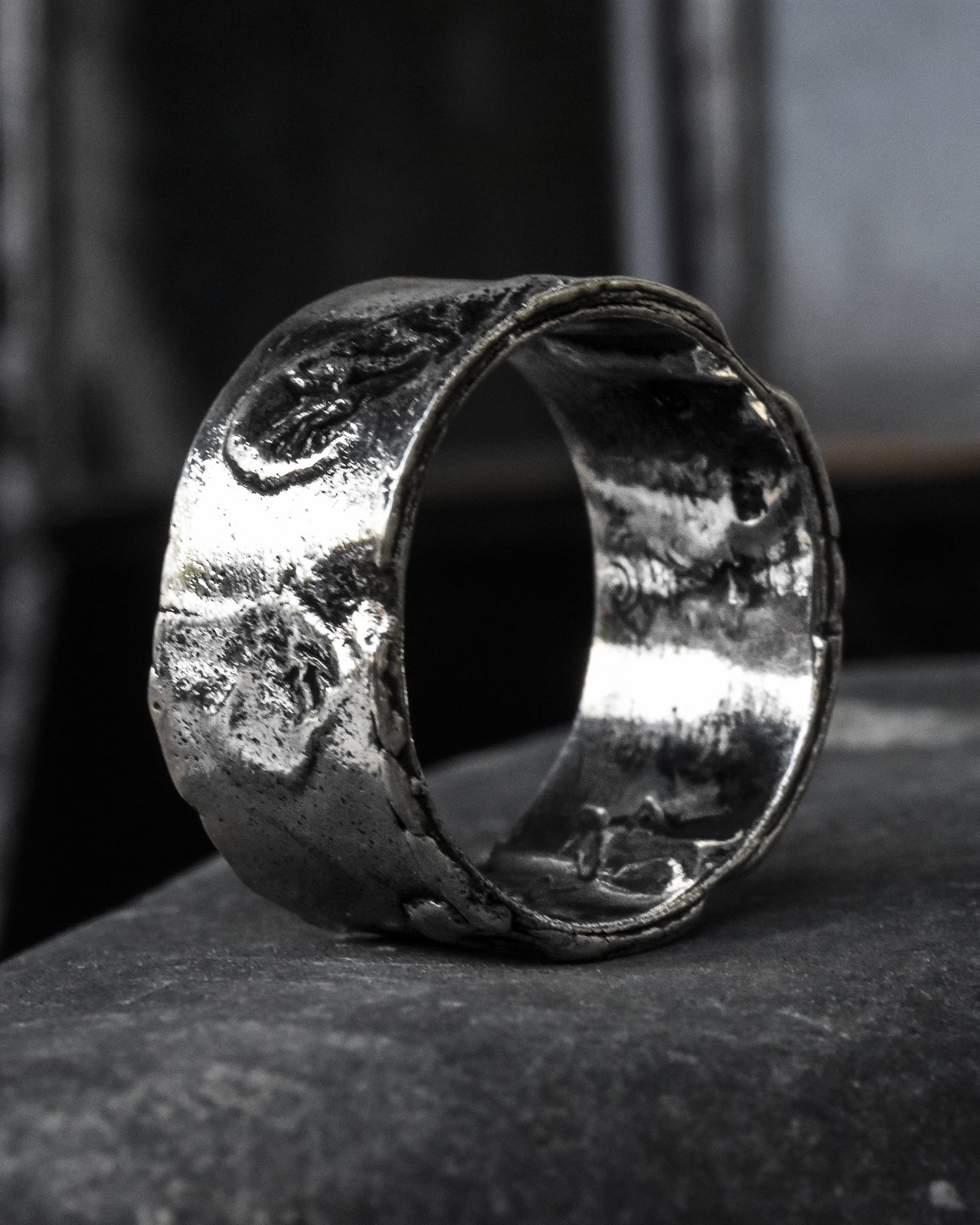ZG8005 Volcanic Silver Ring