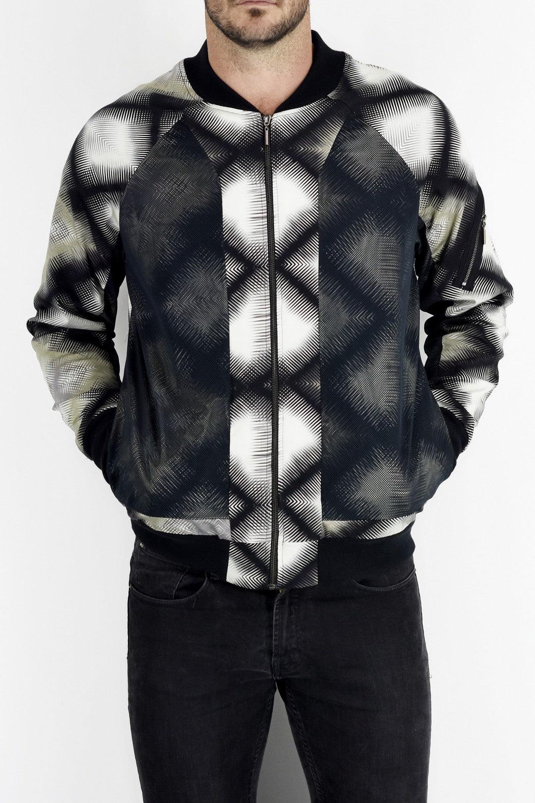 ZG5162 Urban X Jacket with mesh overlay