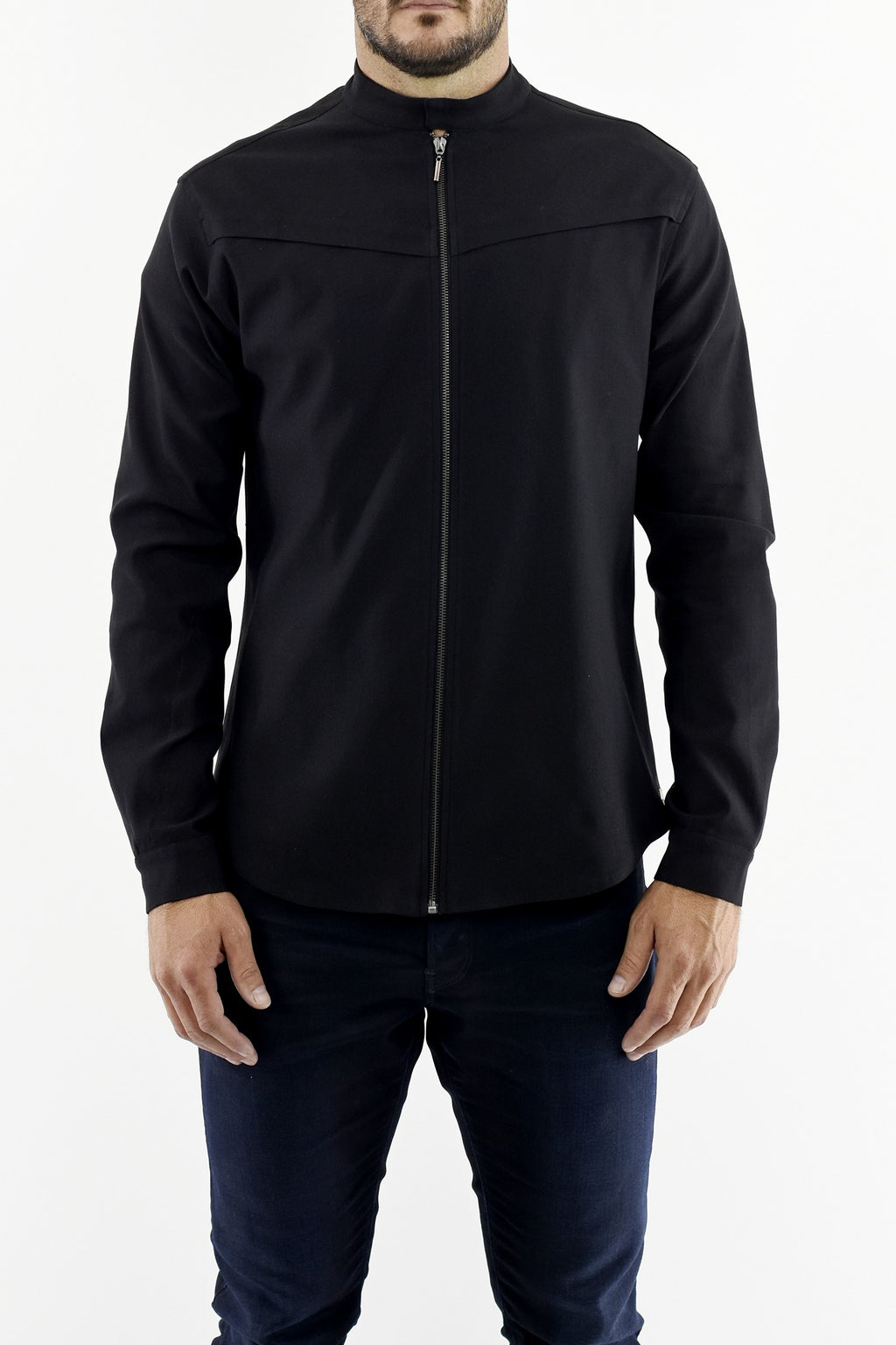 Mens Lightweight Zip Front Jacket ZG5254