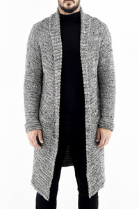 Mens Marl Knitwear Shawl Collar Cardigan ZG5328