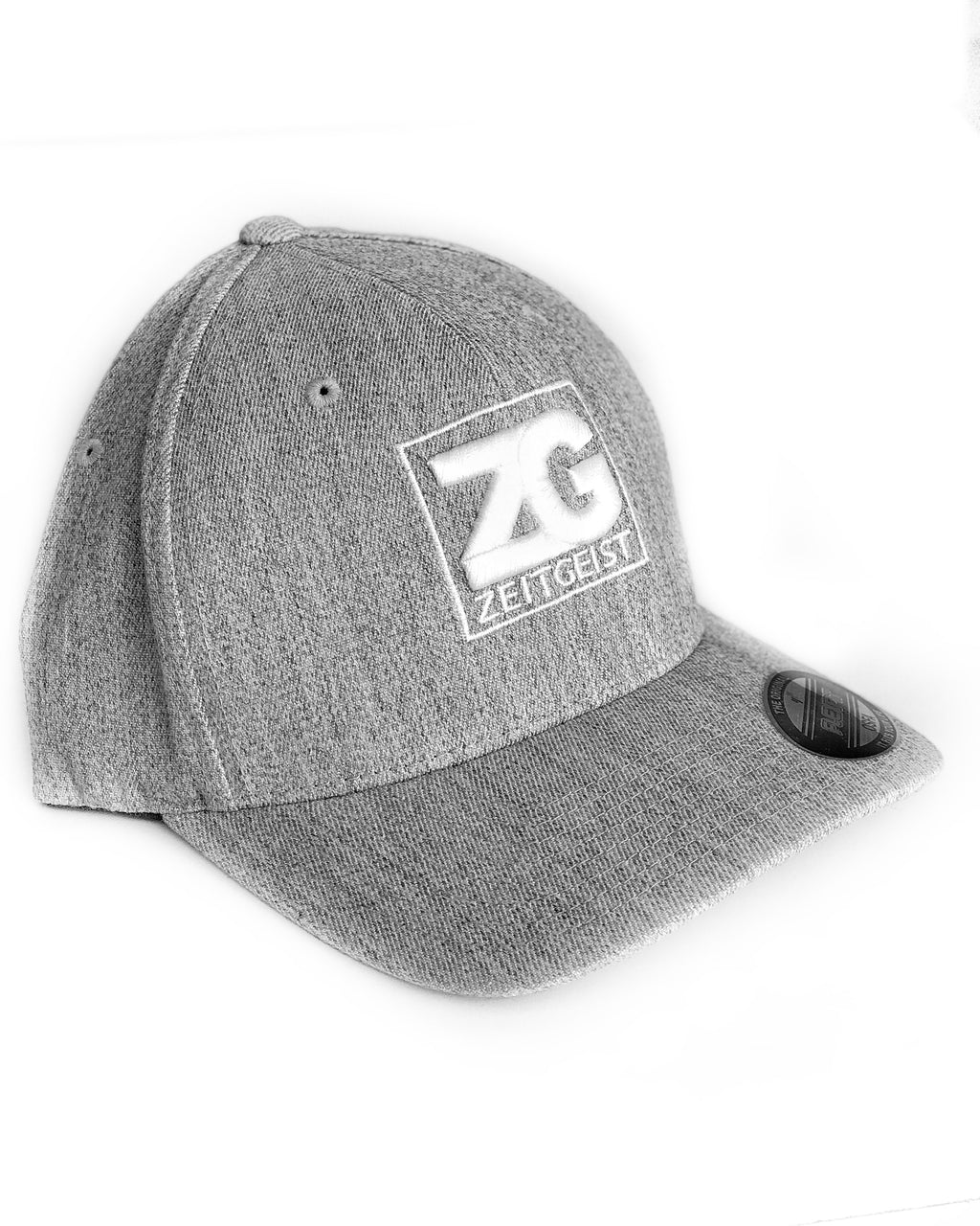 Zeitgeist Cap Light Heather with White Logo ZG5165