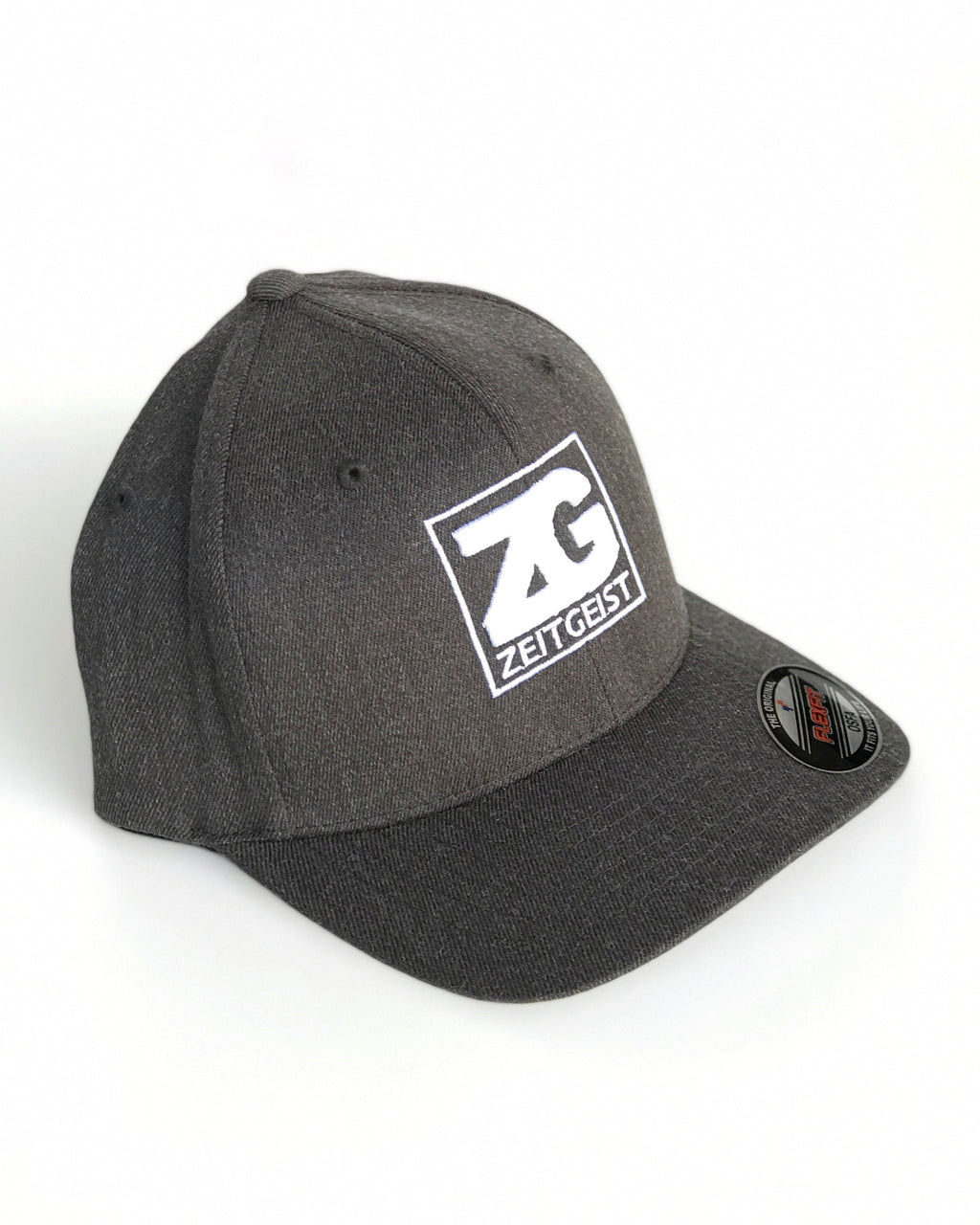 Zeitgeist Cap Dark Heather with White Logo ZG5164