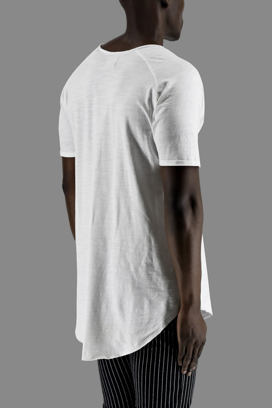 ZG5015 neck detail T shirt