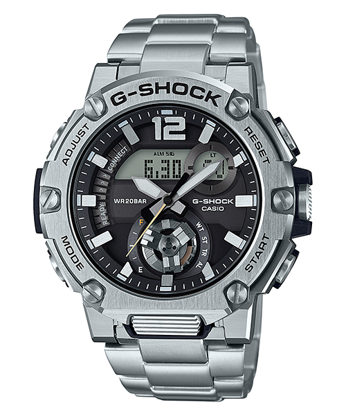 G-Shock Mens 200m G-Steel - GST-B300SD-1ADR