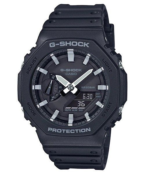 G-Shock Mens 200m Carbon Core - GA-2100-1ADR