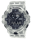 G-Shock Mens 200m Skeleton Carbon Core - GA-2100SKE-7ADR