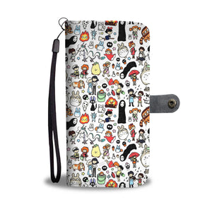 Ghibli Wallet Case